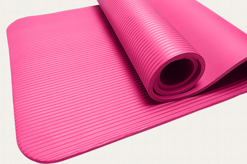 mat pink at oval yoga proddetail piece shape gym exercise mats id gravolite rs fitness